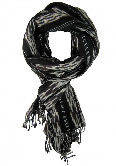 Navajo Black Scarf Tie